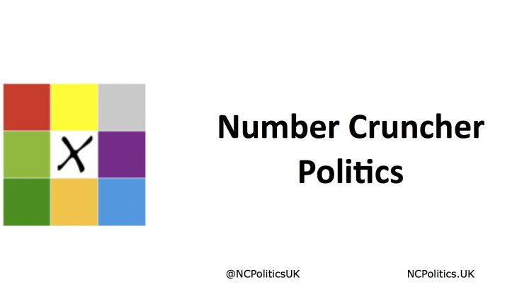 Number Cruncher Politics is is a non-partisan blog focussing on UK psephology, statistical analysis, opinion polls and politics