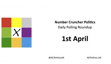 Number Cruncher Politics Daily Polling Roundup 1st April