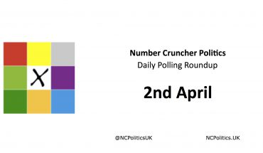 Number Cruncher Politics Daily Polling Roundup 2nd April
