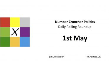 Number Cruncher Politics Daily Polling Roundup 1st May