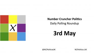 Number Cruncher Politics Daily Polling Roundup 3rd May