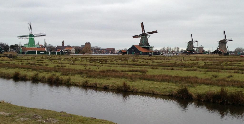 This is the Zaanse schans. It is very very very Dutch