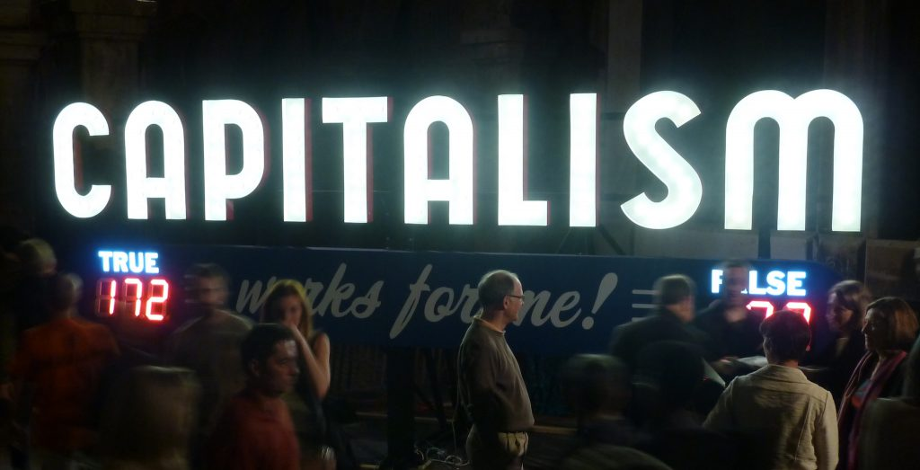 What does the public think about capitalism?