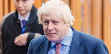 Boris Johnson's approval ratings up